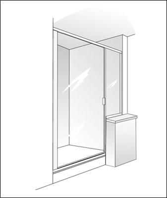 shower enclosure 5000H_180
