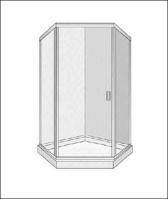 shower enclosure 5000H_45_45