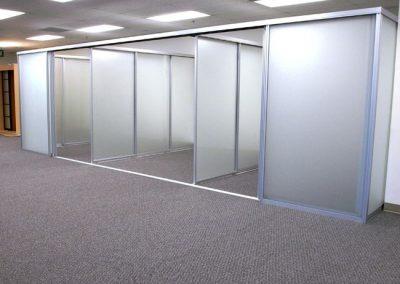 Showroom Room Dividers Sliding Doors