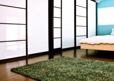 Room Dividers White & Black
