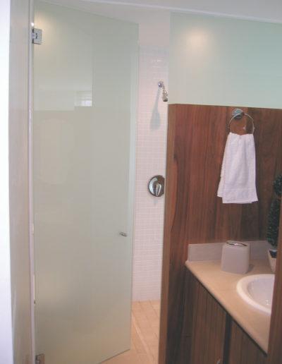 frosted shower door 12